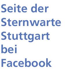 Facebook-Seite der Sternwarte Stuttgart