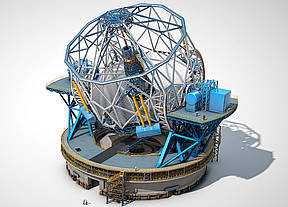 E-ELT (European Extremely Large Teleskope) der ESO